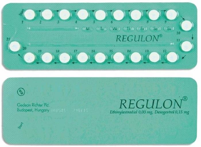 Thuốc tránh thai hàng ngày Regulon