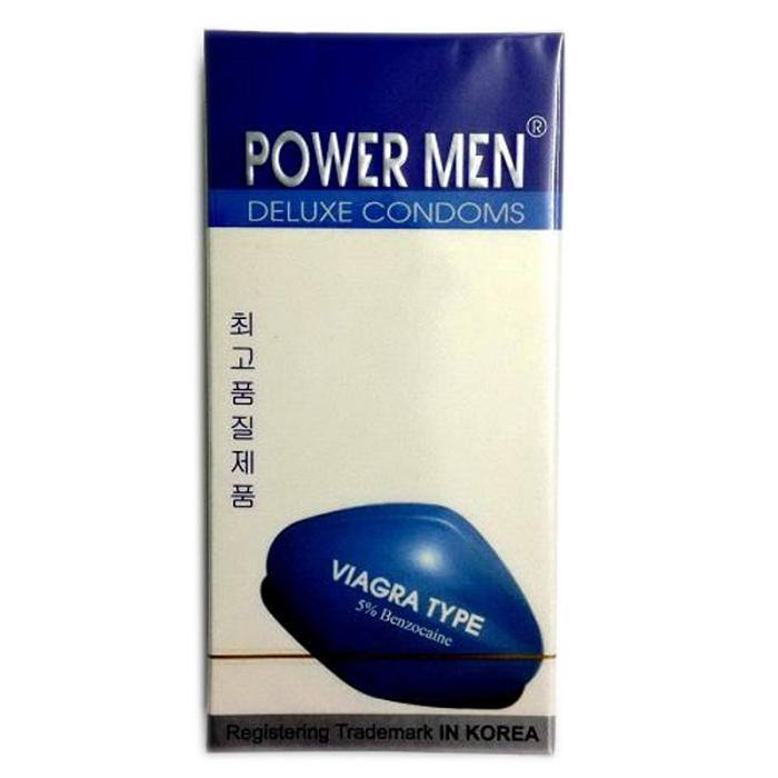 Bao cao su Powermen Viagra chống xuất tinh sớm