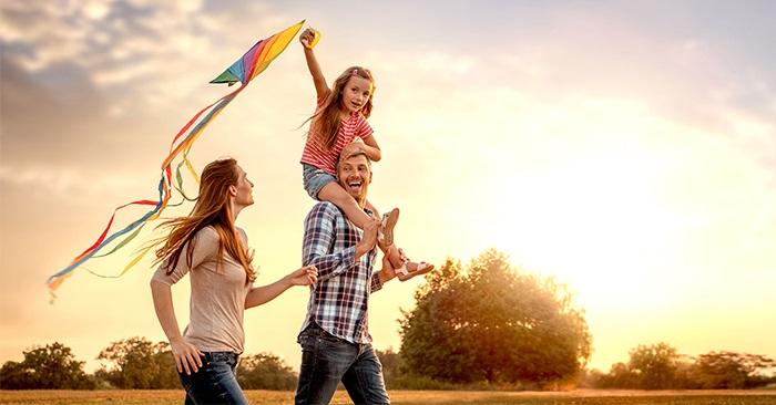 Không gian riêng tư và hạnh phúc của nam giới và gia đình