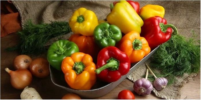 Ớt chuông, hành tây và tỏi - nguyên liệu tăng sinh lực nam