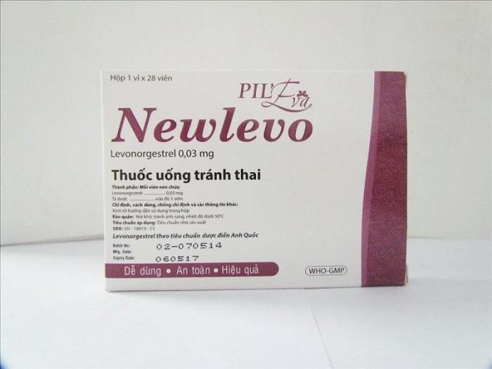 Thuốc tránh thai hàng ngày Newlevo
