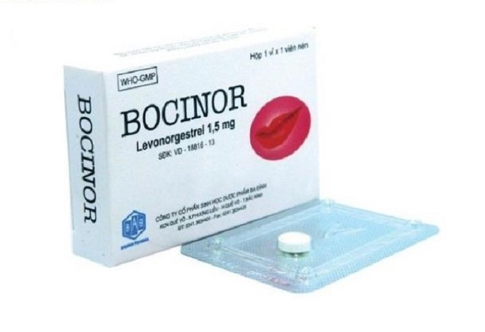 Thuốc tránh thai khẩn cấp Bocinor