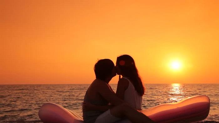 Tận hưởng giây phút hạnh phúc khi bên nhau