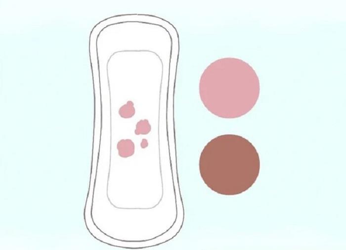 Màu bào thai và màu kinh nguyệt sẽ có màu sắc khác nhau
