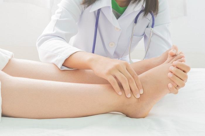 Phù chân sẽ xuất hiện vào những tháng cuối thai kỳ
