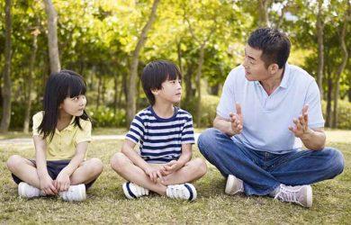 Chia sẻ cùng con sẽ là giải pháp tốt nhất giúp con phát triển khoẻ mạnh