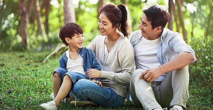 Bố mẹ chính là điểm tựa tình thần quan trọng của các con