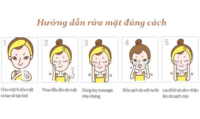 Làm sạch da mỗi ngày